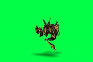 变形金刚  绿屏抠像 特效素材 巧影AE 19