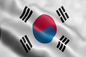 韩国 国旗绿幕后期抠像视频特效素材@特效牛免费手机特效图片