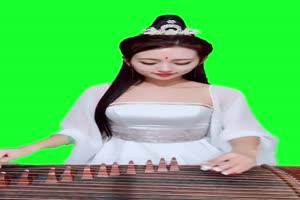<strong>古装 美女 绿屏 巧影 ae 抠</strong>绿布和绿幕视频抠像素材