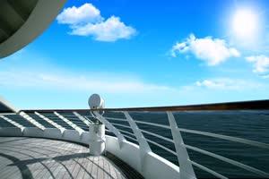 08 唯美风景 游艇手机特效图片