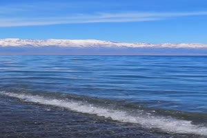 海浪 海水 蓝天2 手机专用背景竖版视频手机特效图片