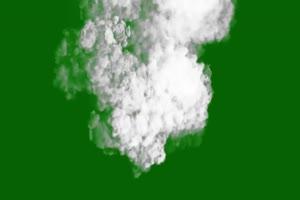 烟雾爆炸 绿屏抠像蓝幕特效素材手机特效图片