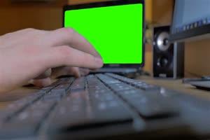 电脑绿幕手机特效图片