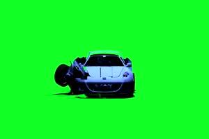 变形金刚  绿屏抠像 特效素材 巧影AE 2
