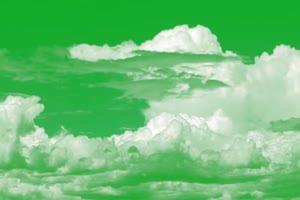 白云 云朵 天空 绿幕视频免费下载 1手机特效图片