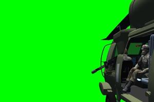 黑鹰 直升机 8 飞机 绿屏绿幕 抠像素材手机特效图片