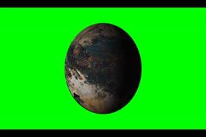 星球4 旋转 绿屏抠像 特效素材手机特效图片