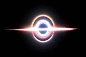 黑洞 黑幕背景 抠像视频素材Black Hole 2手机特效图片