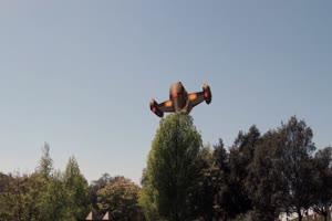 UFO 飞碟 外星飞船 不明飞绿布和绿幕视频抠像素材