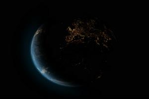 真实地球 抠像视频素材 特效后期素材4手机特效图片