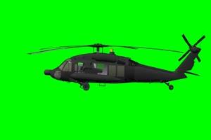 黑鹰直升机 2 飞机 绿屏绿幕 抠像素材手机特效图片