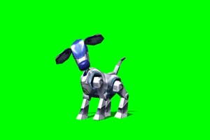 机器人 狗狗 机器狗 1绿屏