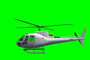 直升机 飞机 航天飞机 绿屏抠像素材 巧影AE 11