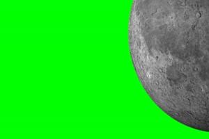 星球 星体月球 月亮 绿幕视频免费下载手机特效图片