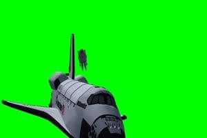 航天飞机 宇宙飞船 UFO飞船 天空科技 24  特效牛绿手机特效图片