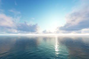 极品海天一色 海洋天空 视频背景素材 唯美至极手机特效图片