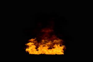 带通道 真实火焰燃烧烟雾 特效后期 抠像视频素手机特效图片