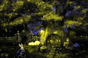森林童话 巧影 AE 背景素材