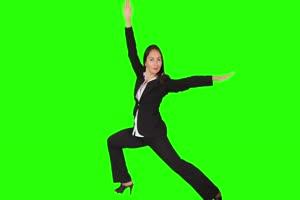 商务人士 美女 职场11 绿屏抠像 特效素材 巧影