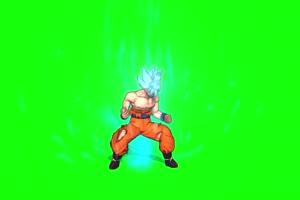 动漫龙珠角色 带魔法勇士前面 绿幕视频特效 抠手机特效图片
