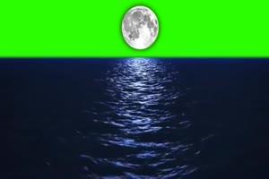 中秋节月亮 绿幕抠像视频免费下载 2
