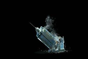写字楼倒塌 大楼倒塌 黑幕素材 特效牛手机特效图片