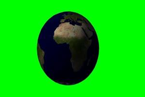 地球2 旋转 绿屏抠像 特效素材手机特效图片