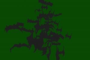 蝙蝠飞近 绿幕素材 抠像视频免费下载手机特效图片