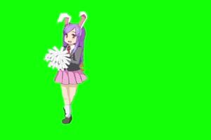 新宝岛 日本动漫 动漫美女跳舞手机特效图片