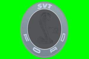 福特 Ford Shelby SVT GT 500 logo 车标 绿屏抠像 特效素手机特效图片