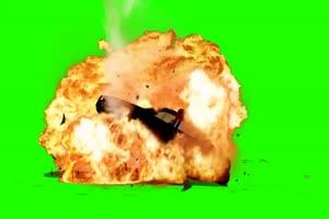 免费 警车 警车爆炸 绿幕视频 绿幕素材免费下载