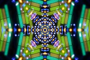 VJ视频 炫彩 LED大屏幕 超清蹦迪视频素材 07手机特效图片