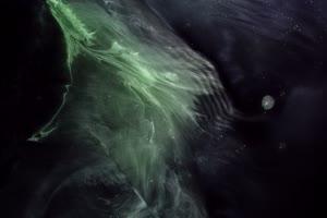 宇宙 星云 黑洞12 Green Nebula手机特效图片