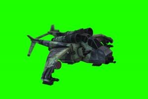 战斗机 飞机 航天飞机 1绿布和绿幕视频抠像素材