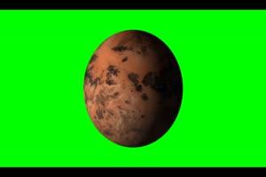 星球 星体旋转的恒星 星球 3 绿幕视频免费下载手机特效图片