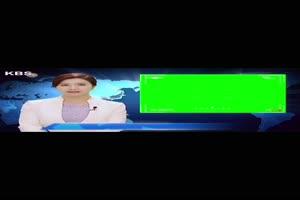 韩国主播 竖版手机版 绿幕抖音热门素材手机特效图片