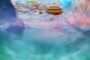 南天门 天宫 仙境 神仙之地云海仙境手机特效图片