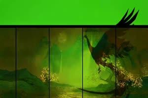虞姬 王者荣耀绿幕视频 抠像素材 剪映巧影抠像手机特效图片