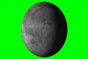 星球 星体旋转的恒星 星球 1 绿幕视频免费下载手机特效图片