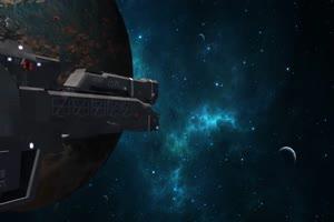 外星飞船 宇宙飞船 战舰 科幻片 巧影手机特效绿手机特效图片