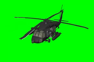 直升机 飞机 航天飞机 绿屏抠像素材 巧影AE 3手机特效图片