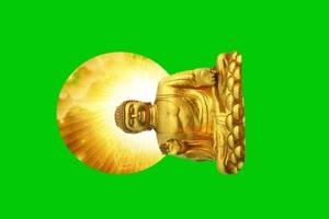 佛主 观音 菩萨 绿屏抠像素材 7手机特效图片