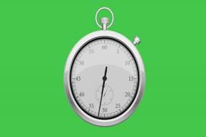 免费闹钟 时钟 钟表 倒计时 挂钟 时间 绿幕素材手机特效图片