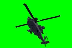 直升机 飞机 航天飞机 绿屏抠像素材 巧影AE 16手机特效图片