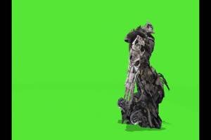 战斗的机器人 机器人 视频特效 绿幕素材 抠像通手机特效图片