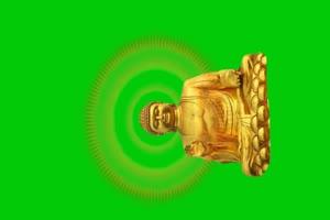 佛主 观音 菩萨 绿屏抠像素材 5手机特效图片