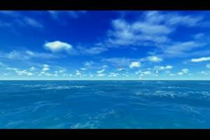 唯美大海视频手机特效图片