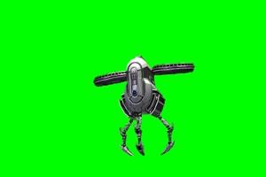 无人机 航拍机器人 Drone 绿幕视频 绿幕素材免费手机特效图片