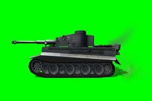 老虎 坦克 大炮 5 特效后期