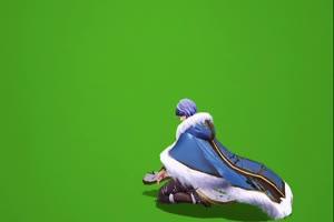 奕星 天下如棋 王者荣耀绿幕素材 抠像素材下载手机特效图片